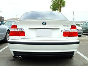 Für BMW E46 Limo Heck Spoiler Spoilerlippe Kofferraum Lippe Heckspoilerlippe