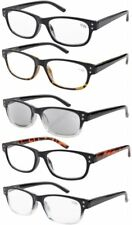 acc269c84de EyeKepper 5-pack Spring Hinges Vintage Reading Glasses Includes Sunglasses