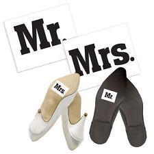 """Schuhsticker  """"Mr & Mrs"""" 2 Stk. Schuh Sticker Aufkleber Brautschuhe"""