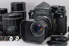 【Exc+++++】Pentax 67 6x7 Late Model TTL Mup w/ 75,90,150,200mm,4Lens From Japan