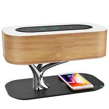 Lámpara de Noche Ampulla con Altavoz Bluetooth v4.0 y Cargador Inalámbrico NEW