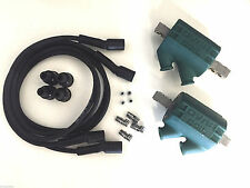 Dyna Ignition Coils 3 ohm Dual Output DC1-1 Wires DW-200 Kawasaki KZ 650 4 CYL