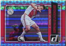 Donruss Soccer 2015 Red [49] Defensive Dynamos Chase Card #4 Joel Veltman