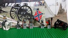 LEGO Civil War Rober E Lee & Confederate Army Soldier. NEW 100% Genuine LEGO