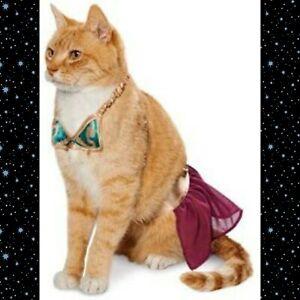 Petco Star Wars Pet Fans Collection ⚜️ Princess Leia Slave 😻 Cat Costume