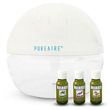 PureAire Basic & 3 Essence Pack Air  Humidifier Ioniser Purifier & Revitaliser