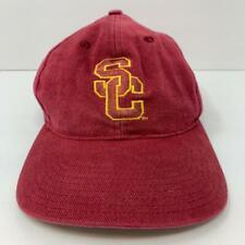 Vintage USC Trojans Nike Team Sports SnapBack Hat Cap Cardinal & Gold OSFA