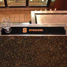 "Syracuse Orange 3.25"" x 24"" Bar Drink Mat - Man Cave, Bar, Game Room"
