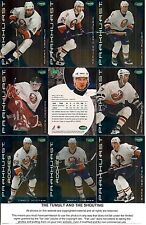 2001-02 Parkhurst by ITG New York Islanders Regular Team Set (13)