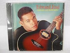 EDWARD JOSE Bachata con Sentimiento Latin Music Tambora Records CD CUBA 10 TRKS