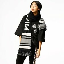 Urban Outfitters Puma Fenty Varsity Scarf Extra Long Gray and Black