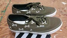 Vans x Wtaps OG Chukka Boot LX  Olive Bones Size 11 Crossbones kanye supreme