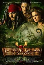 Pirates Caribbean Dead Man's Chest 27x40 Original Theater D/S Movie Poster