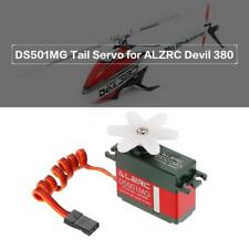 DS501MG Coreless Motor Tail Servo for ALZRC Devil 380 420 450 RC Helicopter B6H7