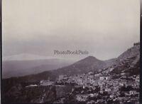 Taormina E Etna Italia Vintage Citrato Foto H. B. Tate