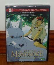 DIE PRINZESSIN MONONOKE-MONONOKE HIME-DVD NEU HAYAO MIYAZAKI (OHNE ÖFFNEN) R2