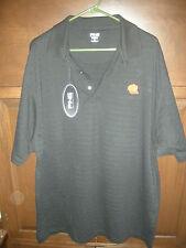 NEW MEN'S ST LOUIS CARDINALS HAT LOGO GOLF SHIRT SIZE XL, BLACK, PING, $48