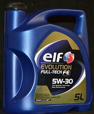 5 Liter Elf EVOLUTION FULL-TECH FE (  DPF )  5W-30 Motoröl RN0720 Renault 5W-30