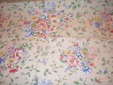 Longaberger Xl Oval Pincic Basket Liner - Spring Floral