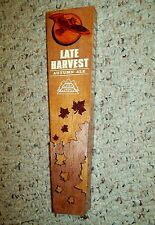 RED HOOK LATE HARVEST AUTUMN ALE TAP HANDLE NEW NO BOX