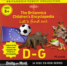 BRITANNICA FAMILY COLLECTION: LET'S FIND OUT D-G (Daily Mail PC CD-ROM)