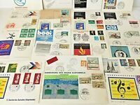 GERMANY - 25 FDOI POSTCARDS - 1970s, most unused - FREE SHIPPING