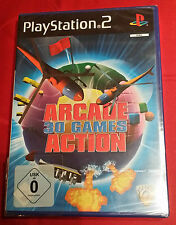 Arcade Action 30 Games  * NEU * OVP * PS2 Playstation 2 PSX2