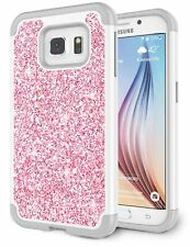 Funda Galaxy S6 Edge, Funda Samsung S6 Edge Para Ninas, Glitter Luxury Cryst