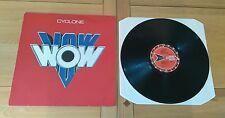 Vow Wow Cyclone 1986 UK LP ERLP50 Heavy Metal Hard Rock