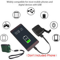 Power Max Travel  Mobile usb Hand crank phone charger For Android Dynamo