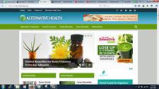 Alternative Health Clickbank adsense wordpress website ads placement see DEMO