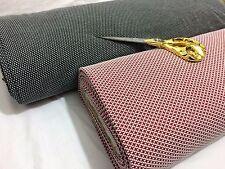 NEW*Stretch Viscose Jacquard Jersey Squares/Cross Weave Knit Dress/Craft Fabric