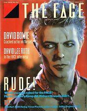 THE FACE #54 October 1984 DAVID BOWIE John Hurt DAVID LEE ROTH Keith Haring @VGC