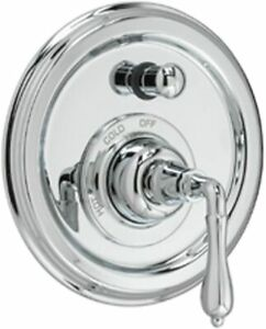JADO CLASSIC/VICTORIAN Tub & Shower Valve Trim Only With Lever Polished Chrome