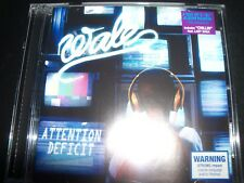 Wale Attention Deficit (Ft Lady Gaga) (Australia) CD – New (Not Sealed)