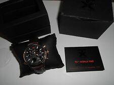 TX (Technoluxury) Men's world time 3B831 watch brand new boxed made by Timex