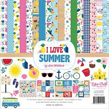 "Echo Park Collection Kit 12""X12""-I Love Summer"