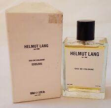 Helmut Lang Cologne by Helmut Lang 3.4 oz Eau De Cologne Spray for Men - RARE