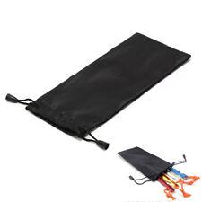 21cm Tent Peg Nails Stake Storage Bag Outdoor Camping Tent Peg Nail Organizer EB