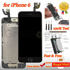 """Screen For iPhone 6 4.7"""" Black Touch Display Digitizer LCD Replacement Assembly"""