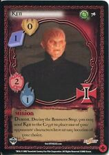 Buffy TVS CCG Limited Class Of 99 Uncommon Card #76 Ken