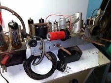 Chassis per radio philips anni 40 completo di  valvole