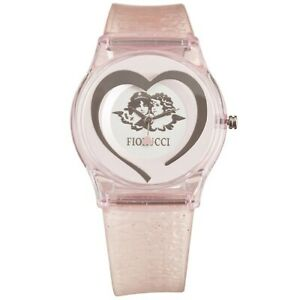 Fiorucci Uhr FR140_4 Kinderuhr Mädchen Rosa Herz Children's Watch NEU & OVP