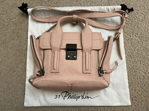 Phillip Lim Pashli Mini Satchel Pink Crossbody