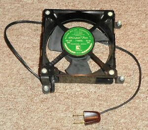 Rotron Whisper Fan 105/125 vac 7 Watts 50/60 Cps Take a LOOK !!!!!!!!!!