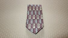 Etienne Aigner Tie, Multipattern Design, 100% Silk (Lot of 1) - NEW WITH TAG