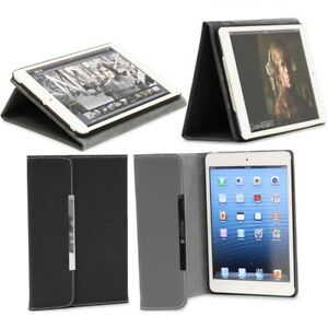 PU Leather Wallet Fold Pouch Case Cover For Apple iPad Mini 1/2 Retina Display/3
