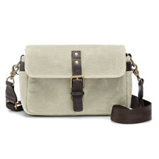 ONA The Bowery Canvas (Oyster) Camera Bag - Handcrafted Premium Bags
