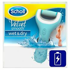 Scholl Velvet Smooth Pedi Wet and Dry Rechargeable Electric Foot File Waterproof