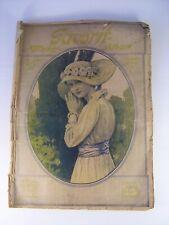 Antiker seltener Mode Katalog Favorit von 1916